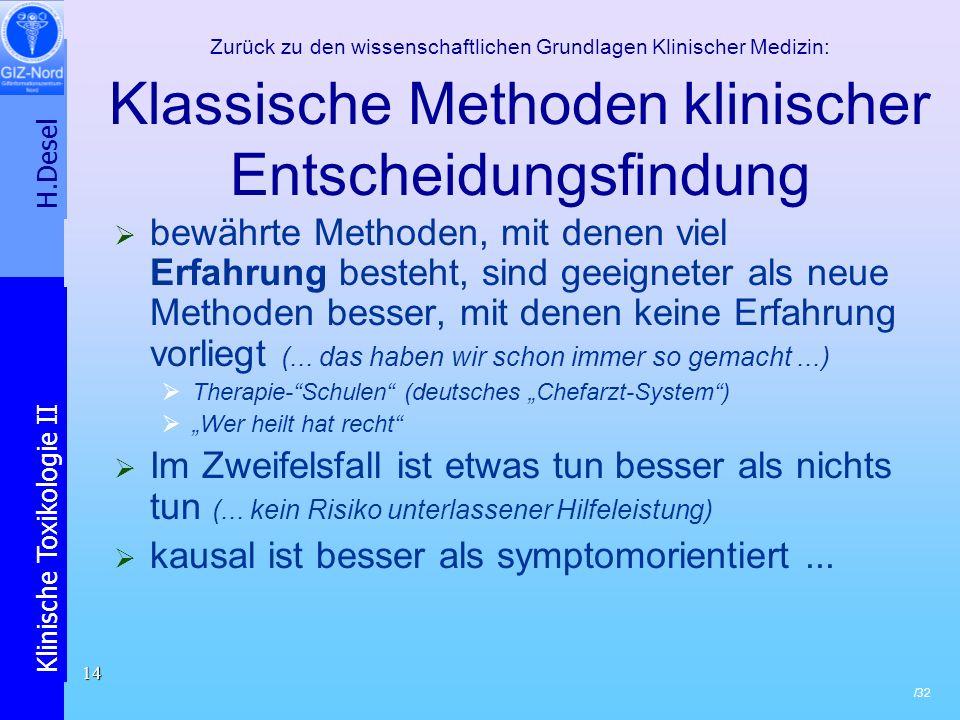 kausal ist besser als symptomorientiert ...