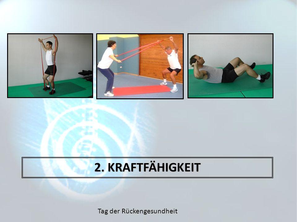 2. KRAFTFÄHIGKEIT Tag der Rückengesundheit