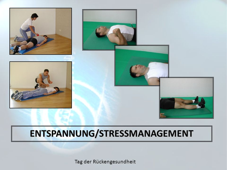 ENTSPANNUNG/STRESSMANAGEMENT