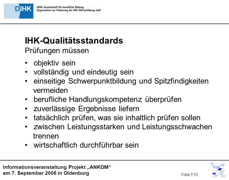 IHK-Qualitätsstandards