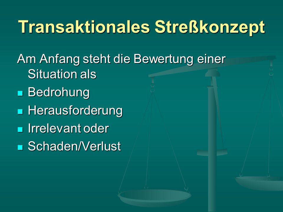 Transaktionales Streßkonzept
