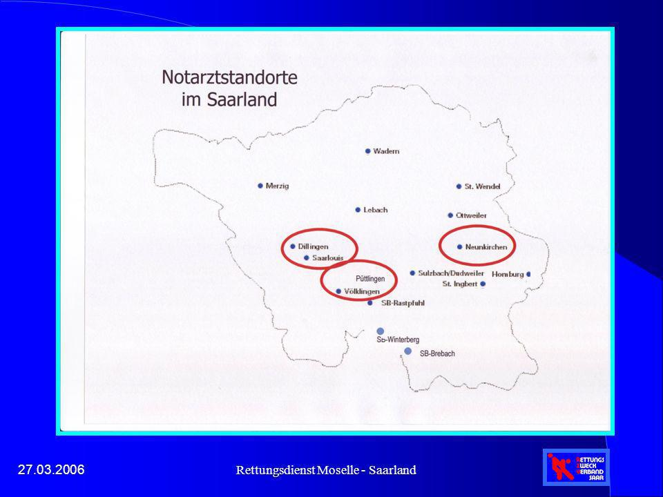 Rettungsdienst Moselle - Saarland