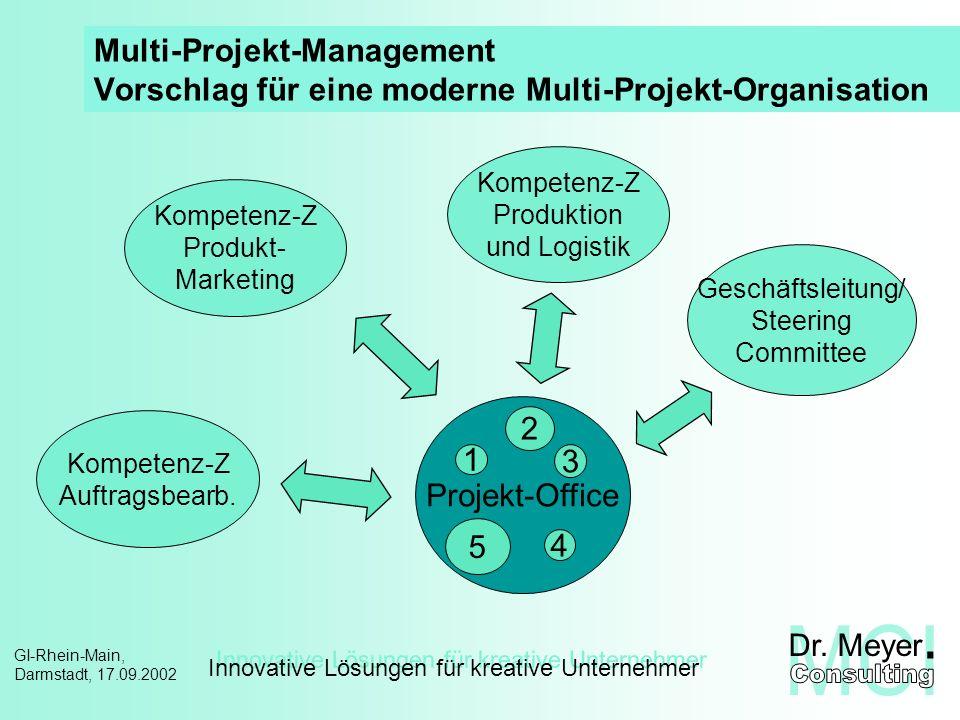 Multi-Projekt-Management Vorschlag für eine moderne Multi-Projekt-Organisation