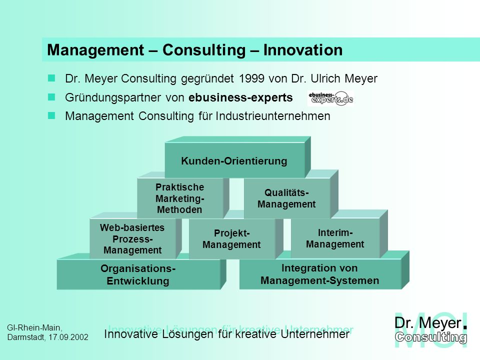 Management – Consulting – Innovation