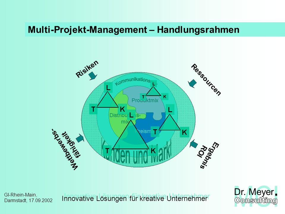 Multi-Projekt-Management – Handlungsrahmen