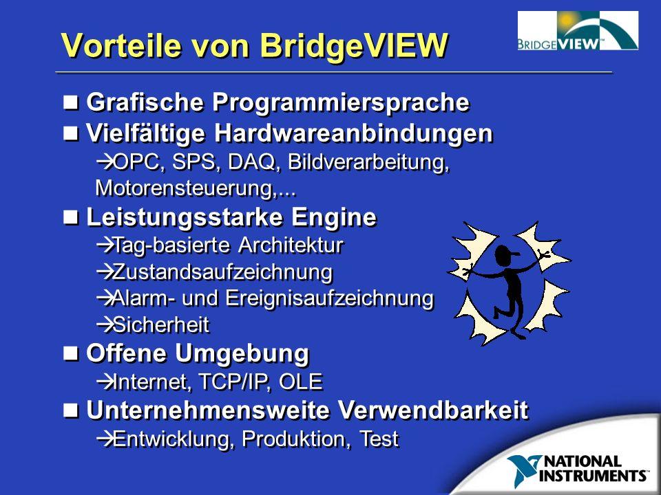 Vorteile von BridgeVIEW