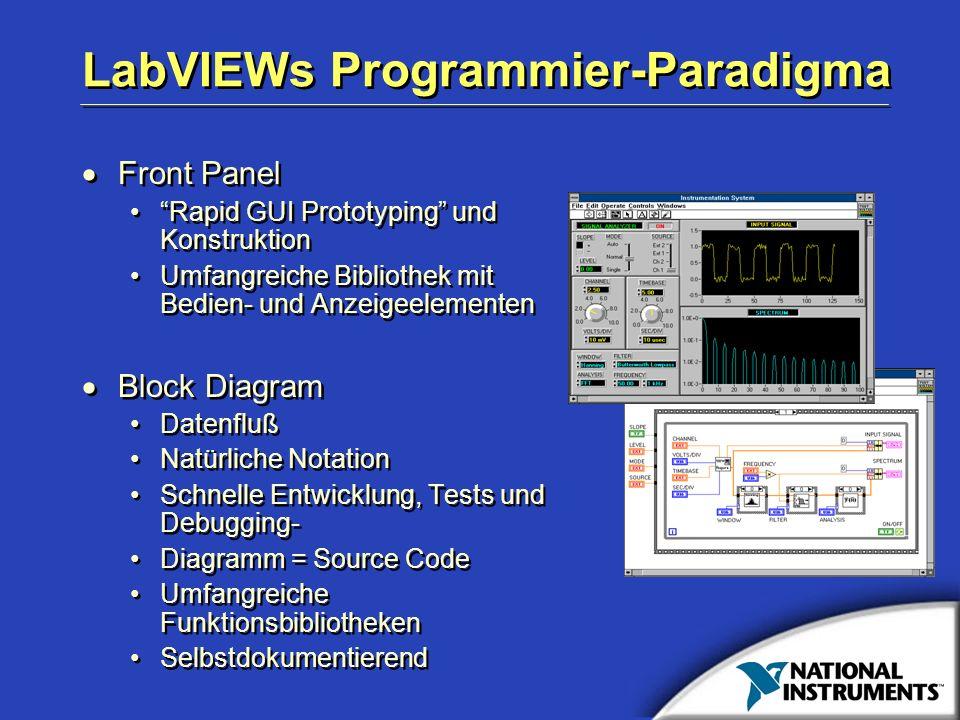 LabVIEWs Programmier-Paradigma