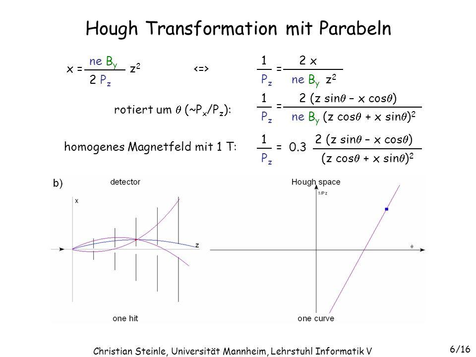 Hough Transformation mit Parabeln