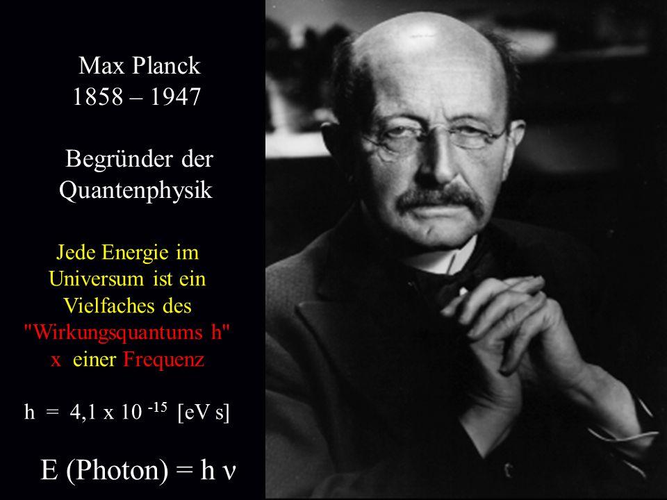 Jede Energie im Universum ist ein