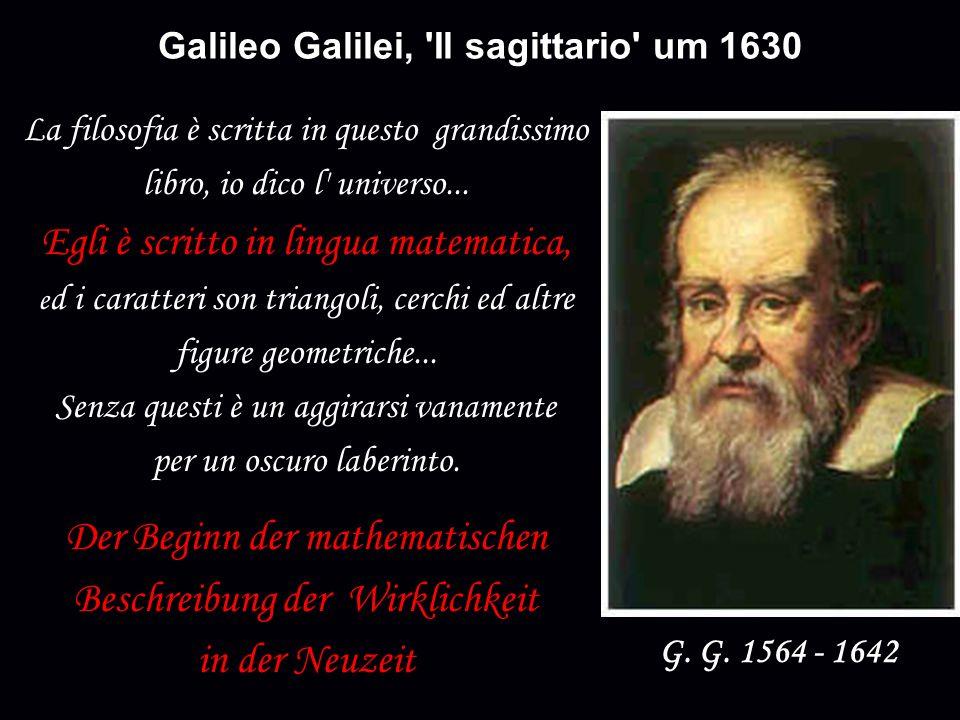 Galileo Galilei, Il sagittario um 1630