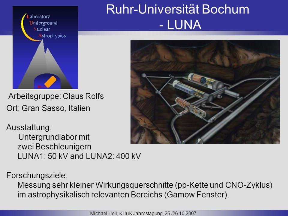 Ruhr-Universität Bochum - LUNA