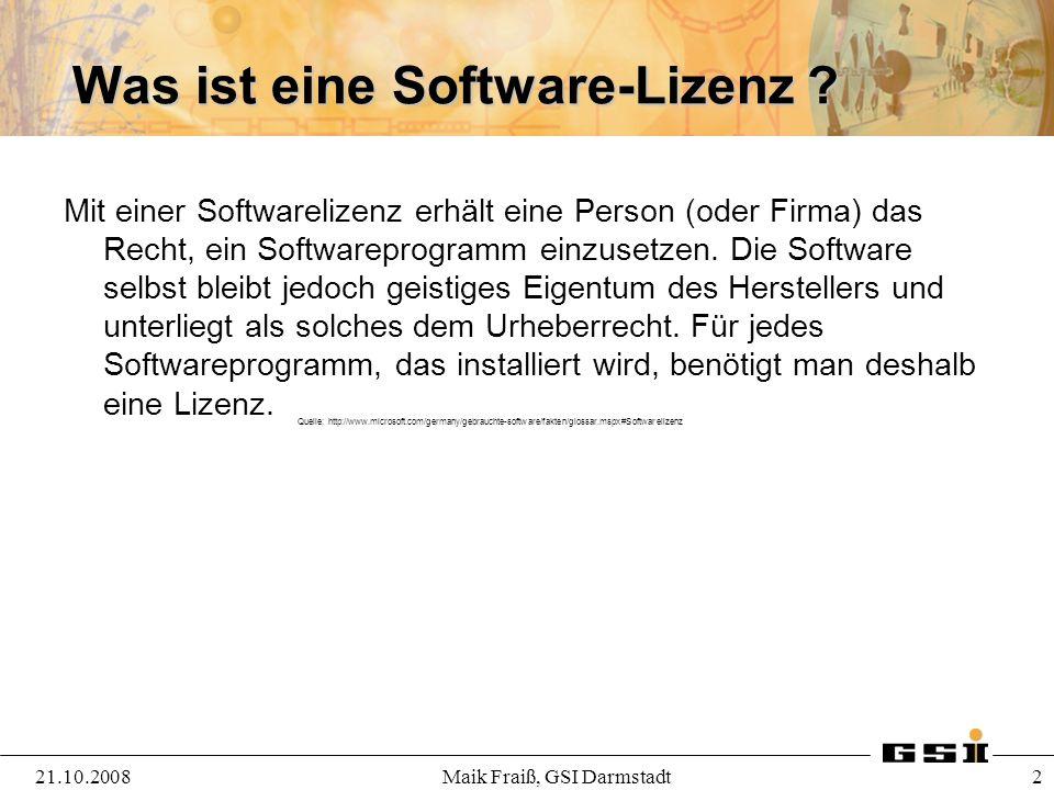 Was ist eine Software-Lizenz