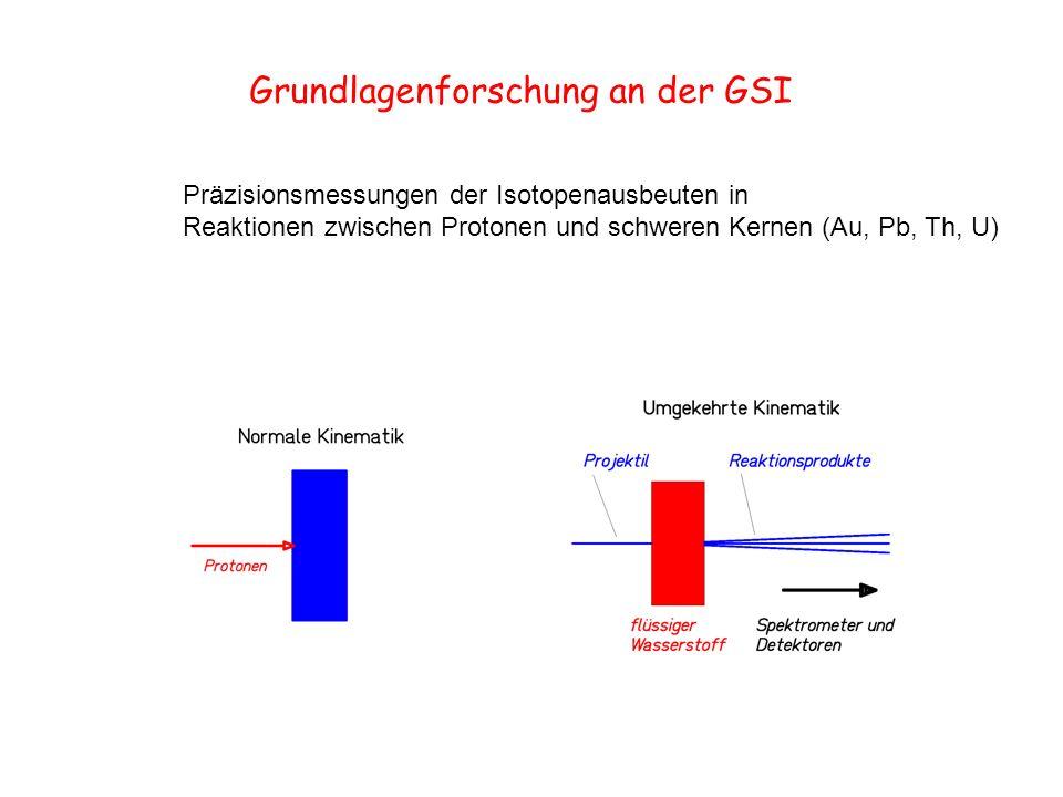 Grundlagenforschung an der GSI