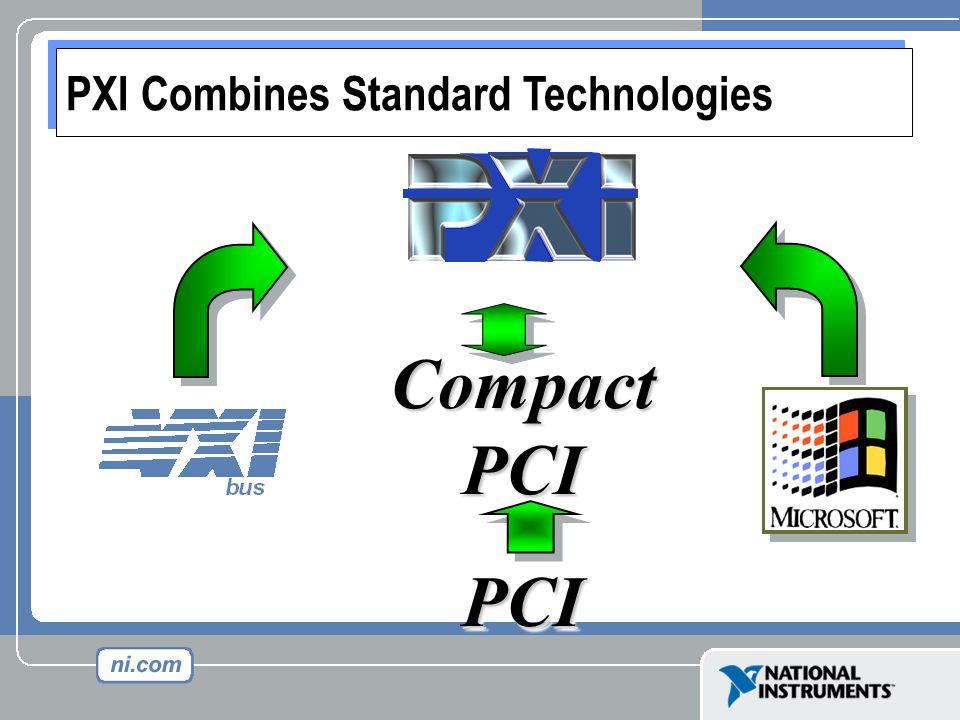CompactPCI PCI PXI Combines Standard Technologies
