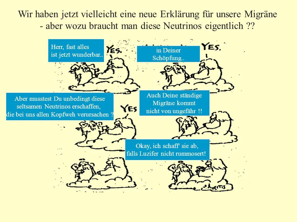 Wir haben jetzt vielleicht eine neue Erklärung für unsere Migräne