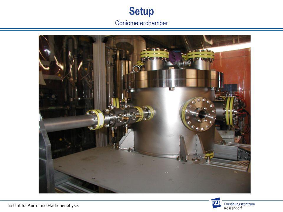 Setup Goniometerchamber