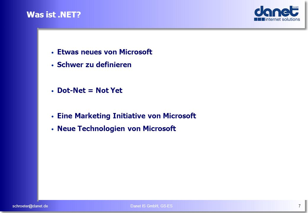 Was ist .NET Etwas neues von Microsoft Schwer zu definieren