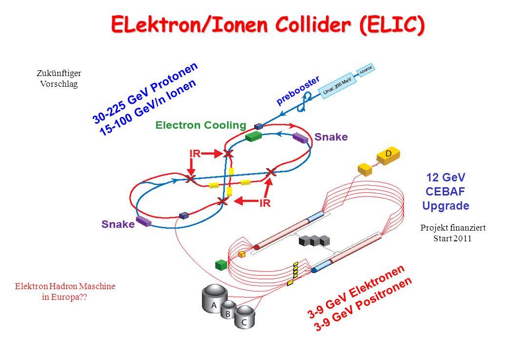 Elektron Hadron Maschine