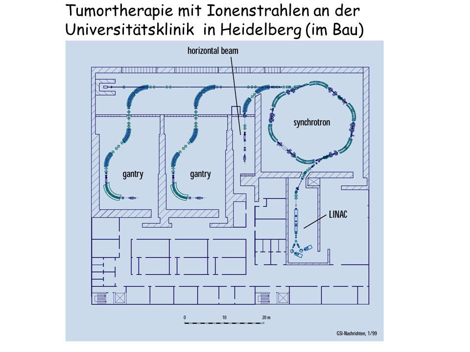 Tumortherapie mit Ionenstrahlen an der