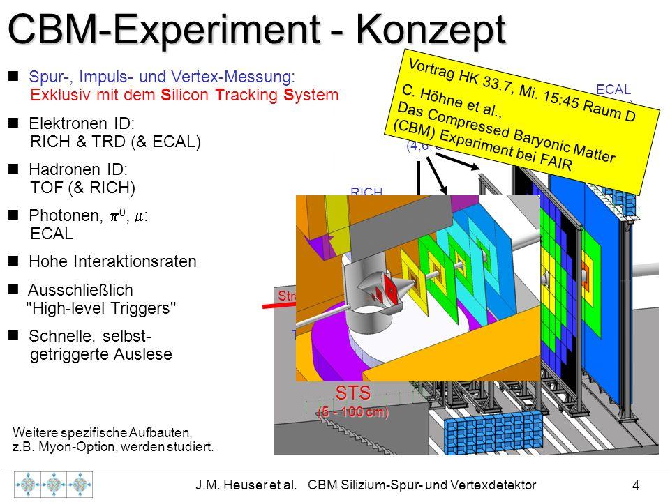 J.M. Heuser et al. CBM Silizium-Spur- und Vertexdetektor