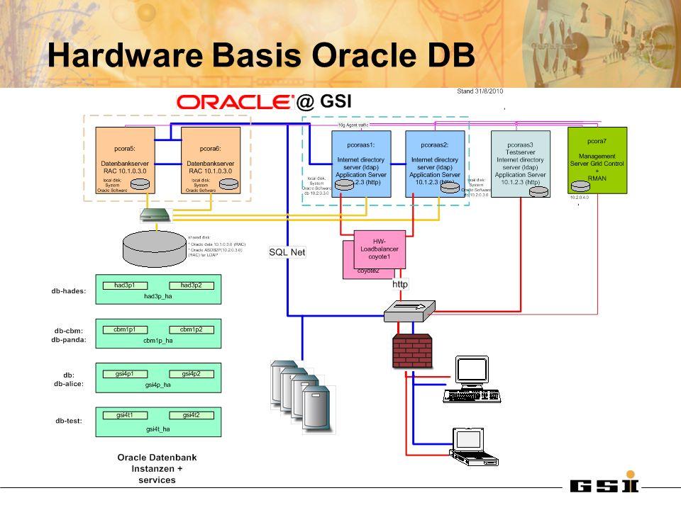 Hardware Basis Oracle DB