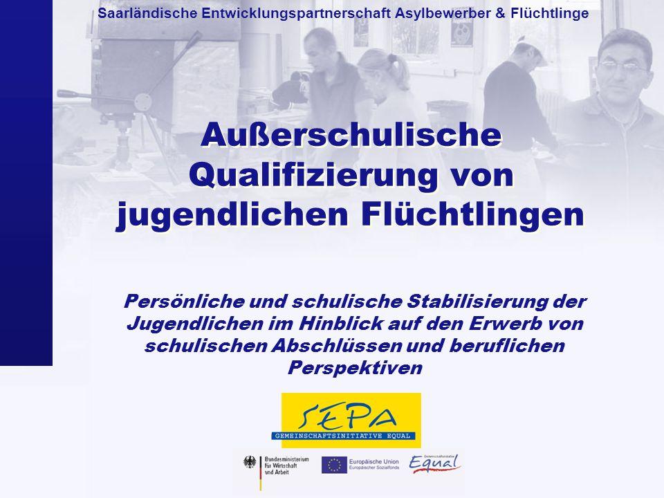 Außerschulische Qualifizierung von jugendlichen Flüchtlingen