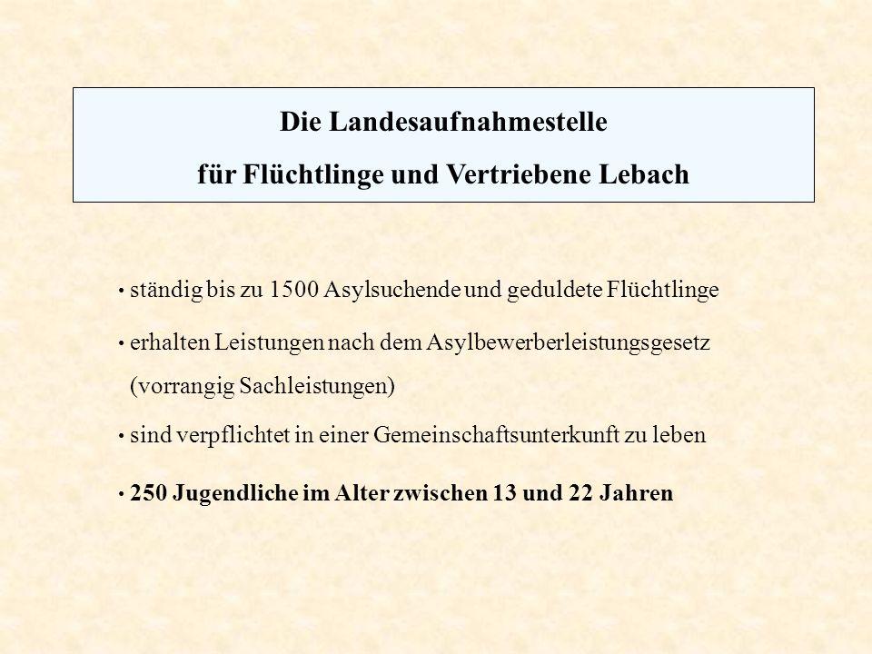 Die Landesaufnahmestelle für Flüchtlinge und Vertriebene Lebach