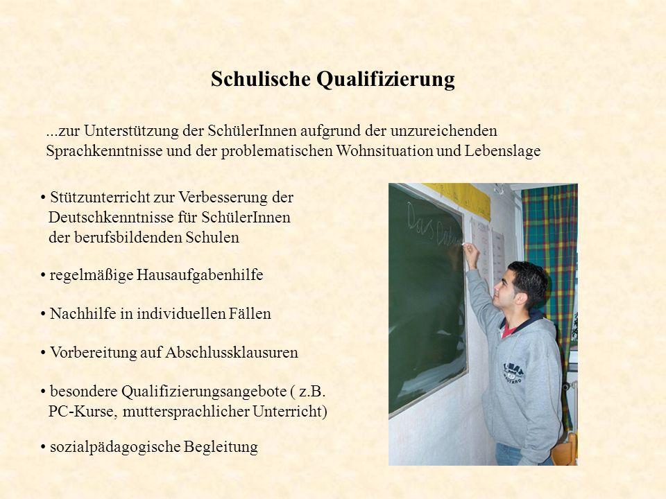 Schulische Qualifizierung