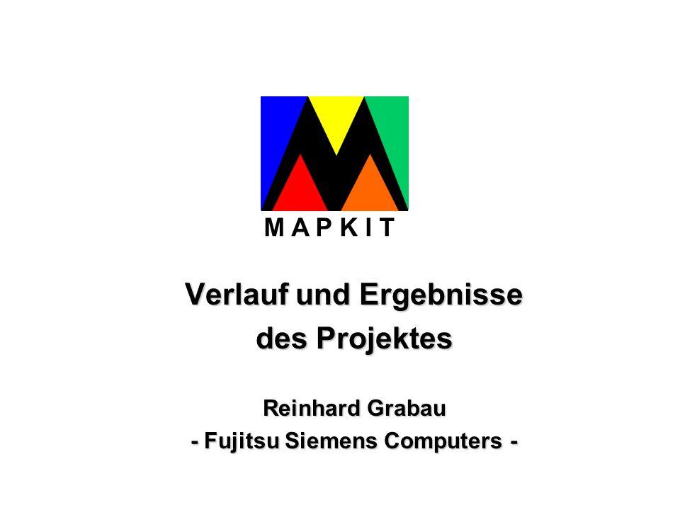 Verlauf und Ergebnisse - Fujitsu Siemens Computers -