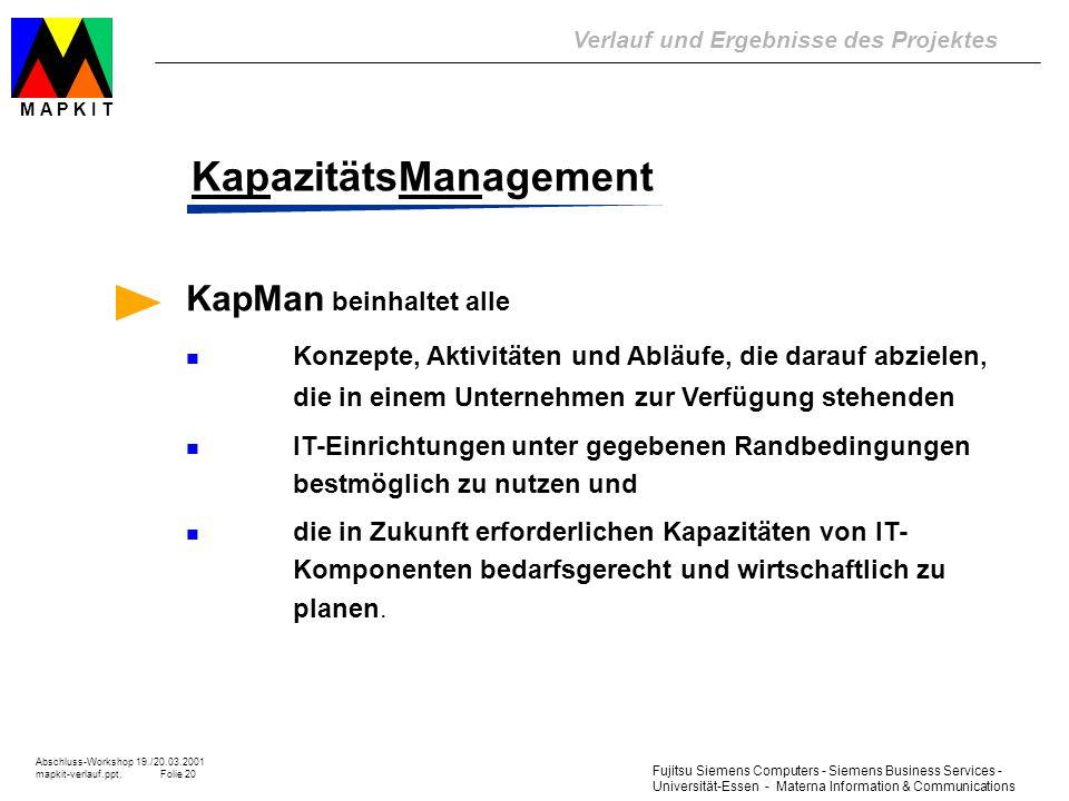 KapazitätsManagement