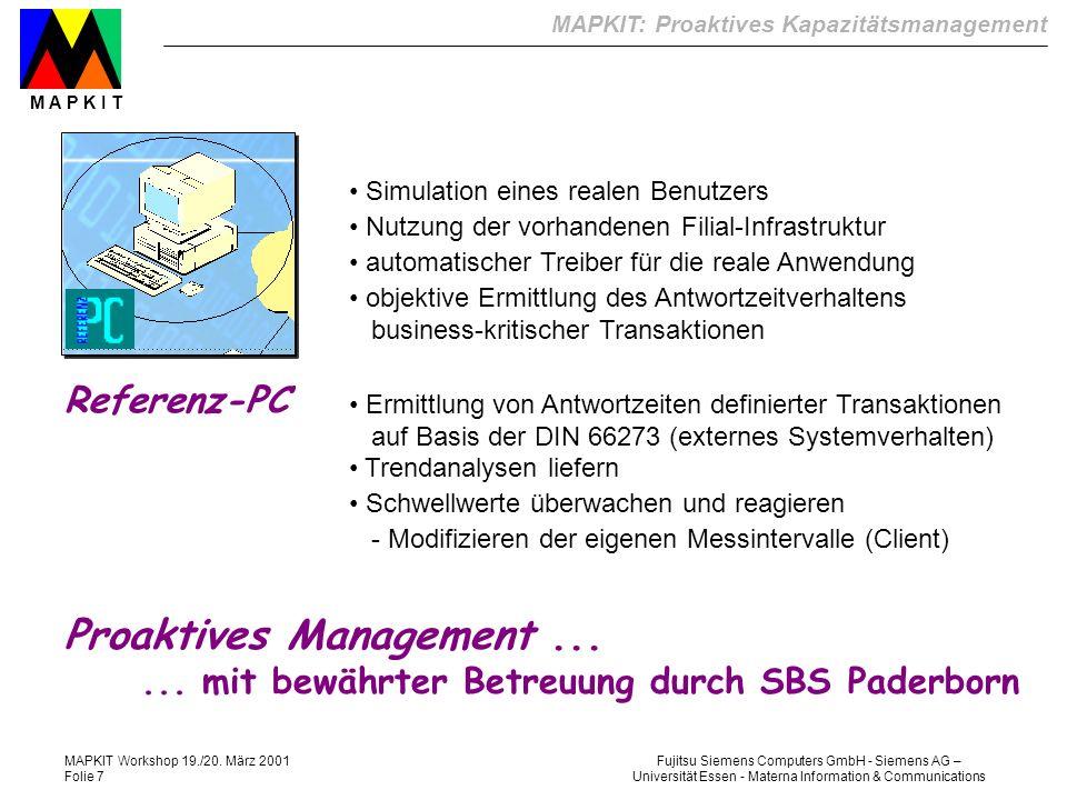 Proaktives Management ...