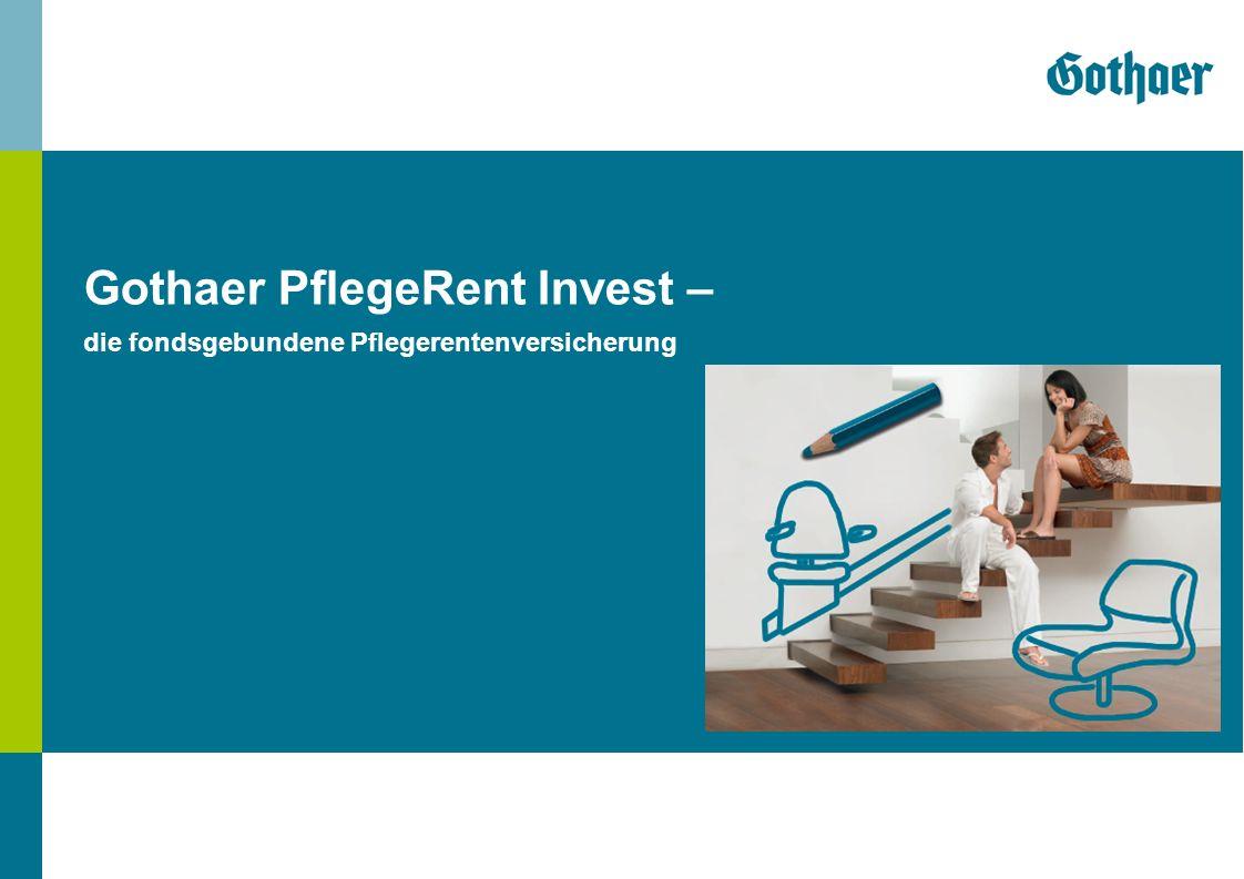 Gothaer PflegeRent Invest – die fondsgebundene Pflegerentenversicherung