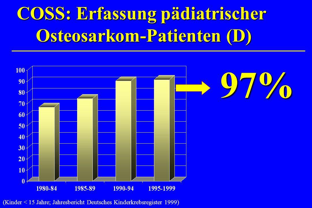 COSS: Erfassung pädiatrischer Osteosarkom-Patienten (D)