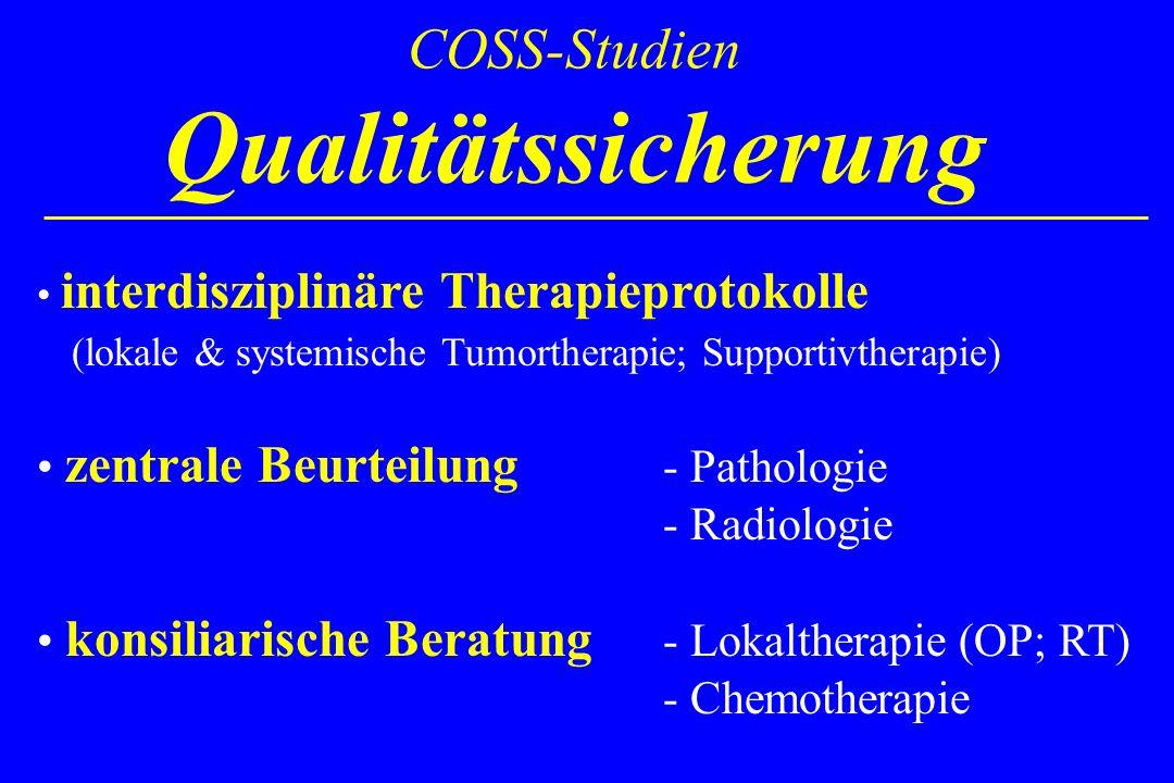 COSS-Studien Qualitätssicherung