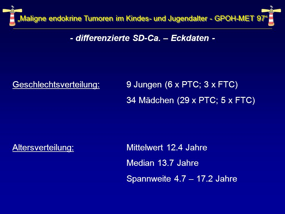 - differenzierte SD-Ca. – Eckdaten -