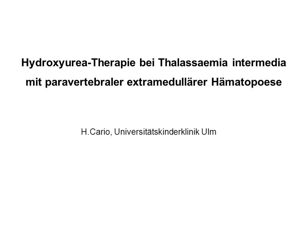 H.Cario, Universitätskinderklinik Ulm
