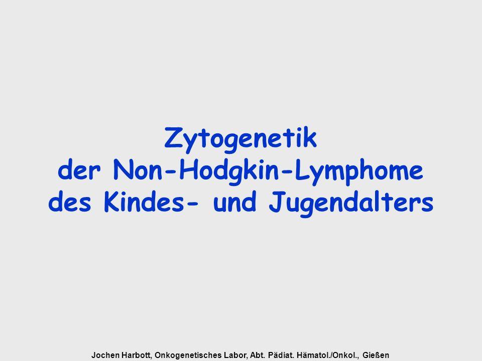 Zytogenetik der Non-Hodgkin-Lymphome des Kindes- und Jugendalters