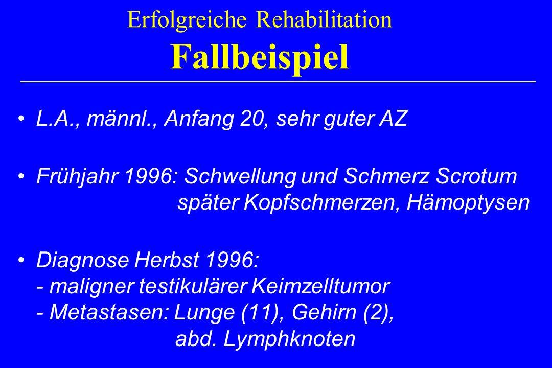 Erfolgreiche Rehabilitation Fallbeispiel