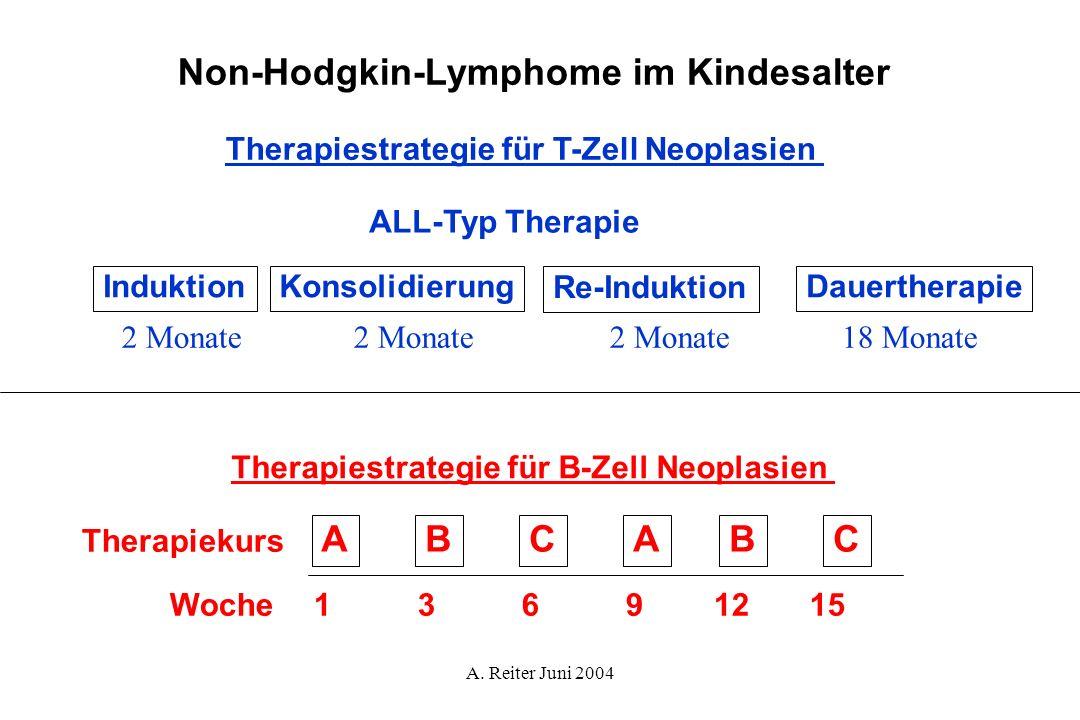 Non-Hodgkin-Lymphome im Kindesalter