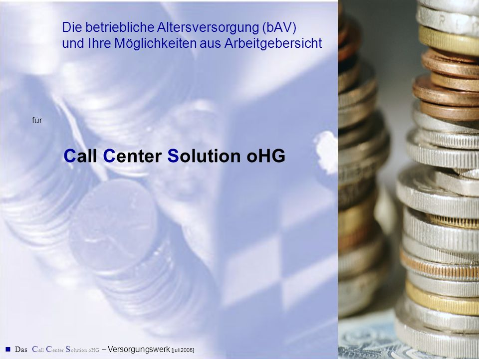 Call Center Solution oHG