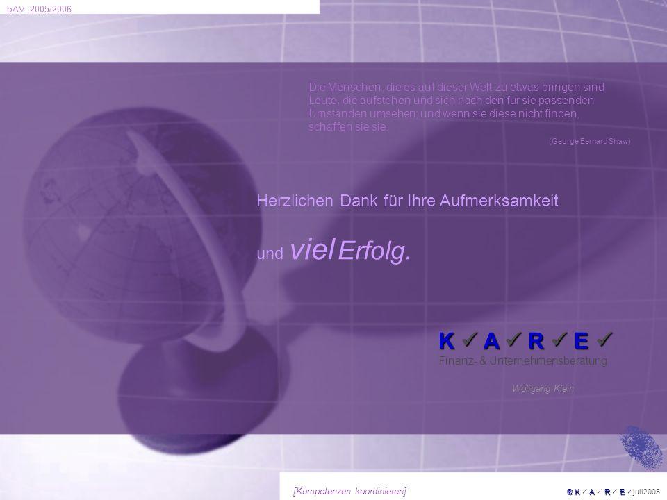 K  A  R  E  Finanz- & Unternehmensberatung