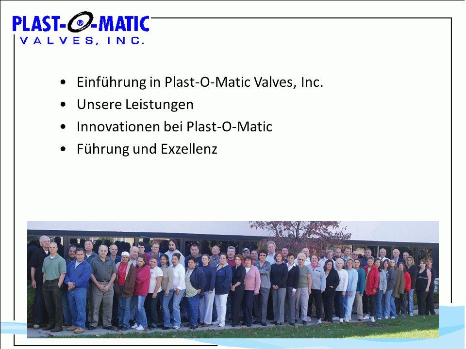 Einführung in Plast-O-Matic Valves, Inc.