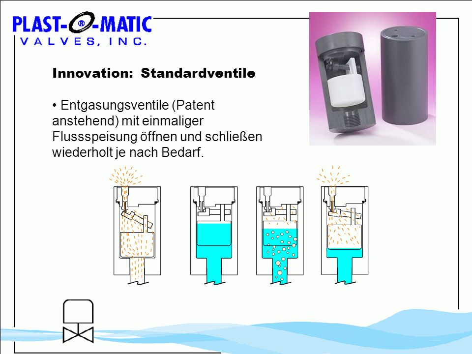 Innovation: Standardventile