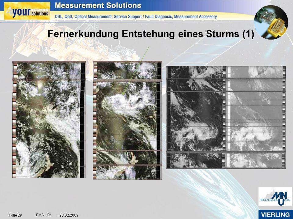 Fernerkundung Entstehung eines Sturms (1)