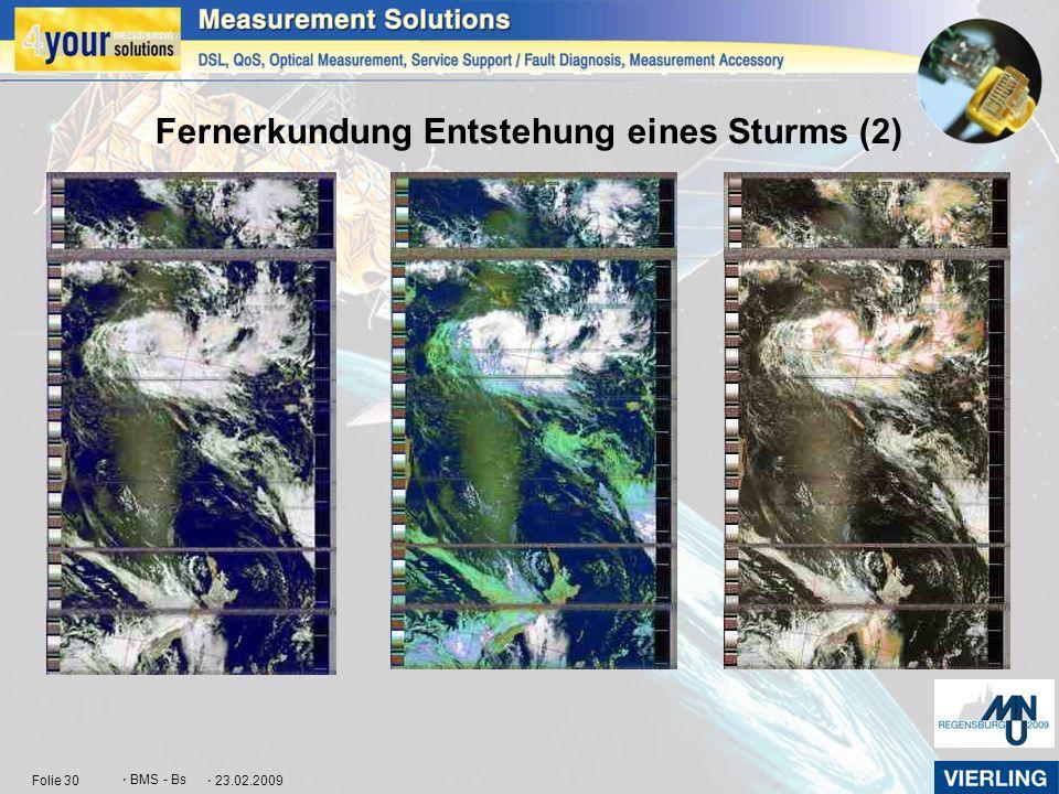 Fernerkundung Entstehung eines Sturms (2)