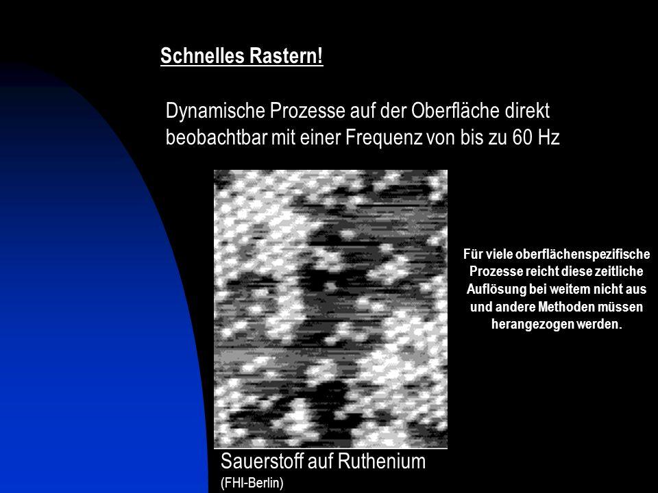 Sauerstoff auf Ruthenium Konstant-Höhen-Modus