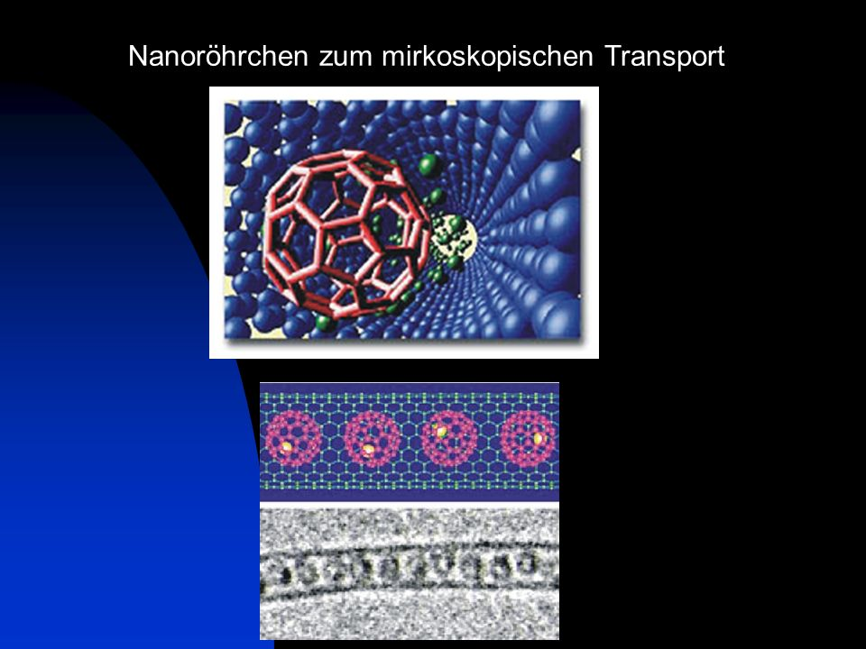 Nanoröhrchen zum mirkoskopischen Transport