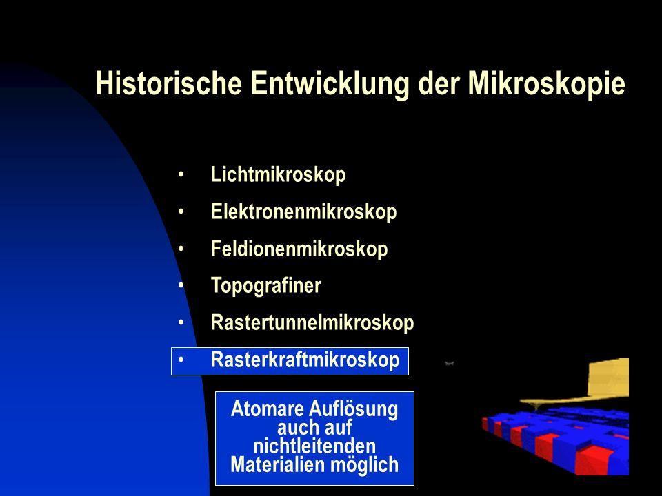 Atomare Auflösung auch auf nichtleitenden Materialien möglich
