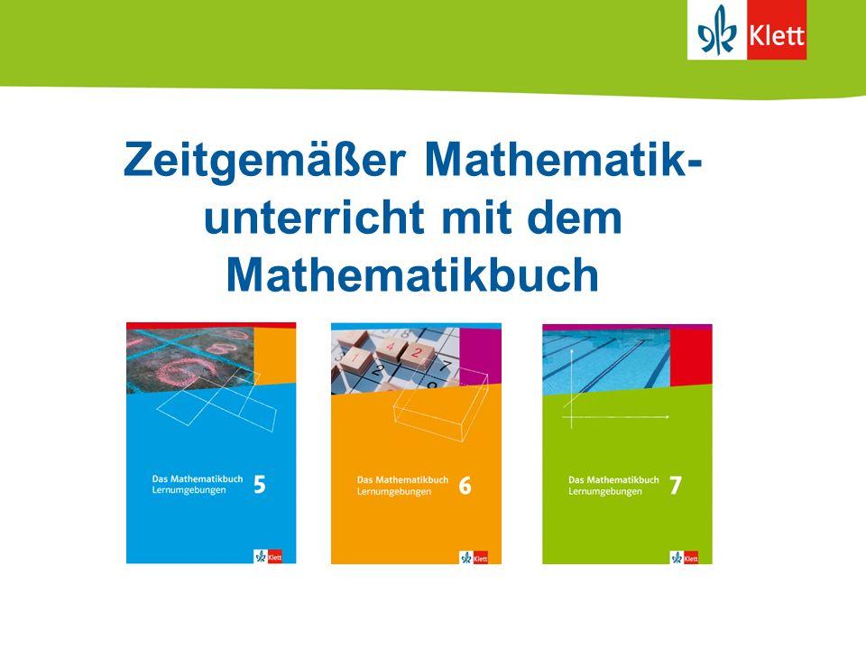 Zeitgemäßer Mathematik-unterricht mit dem Mathematikbuch