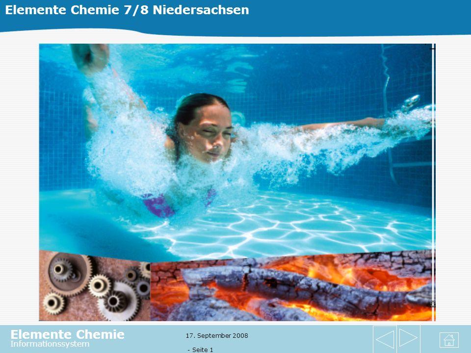 Elemente Chemie 7/8 Niedersachsen